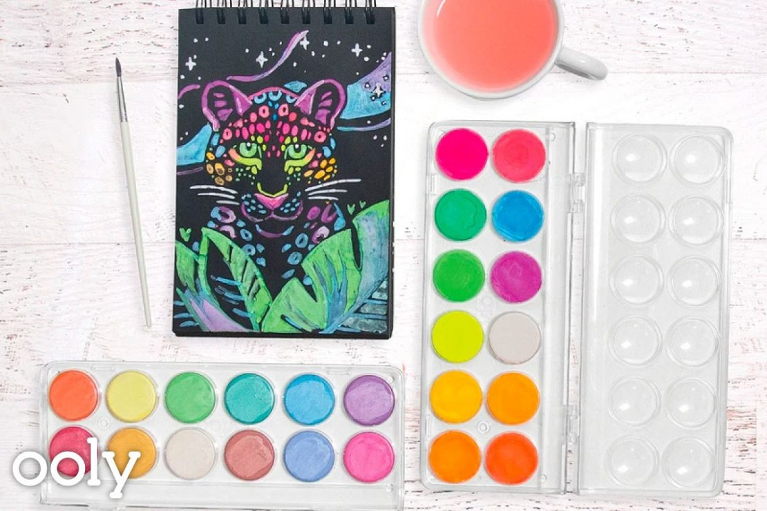 Chroma Blends Watercolors from Ooly