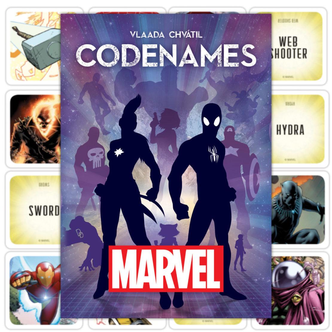 1200 Codenames Marvel