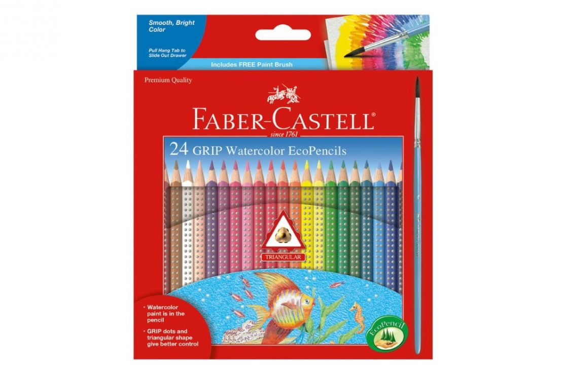 24 Watercolor EcoPencils from Faber-Castell