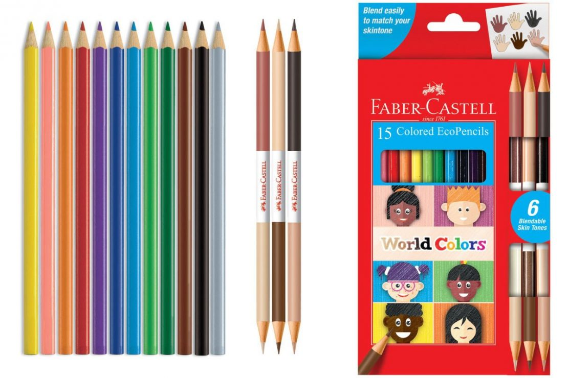 15 World Colors Colored EcoPencils from Faber-Castell