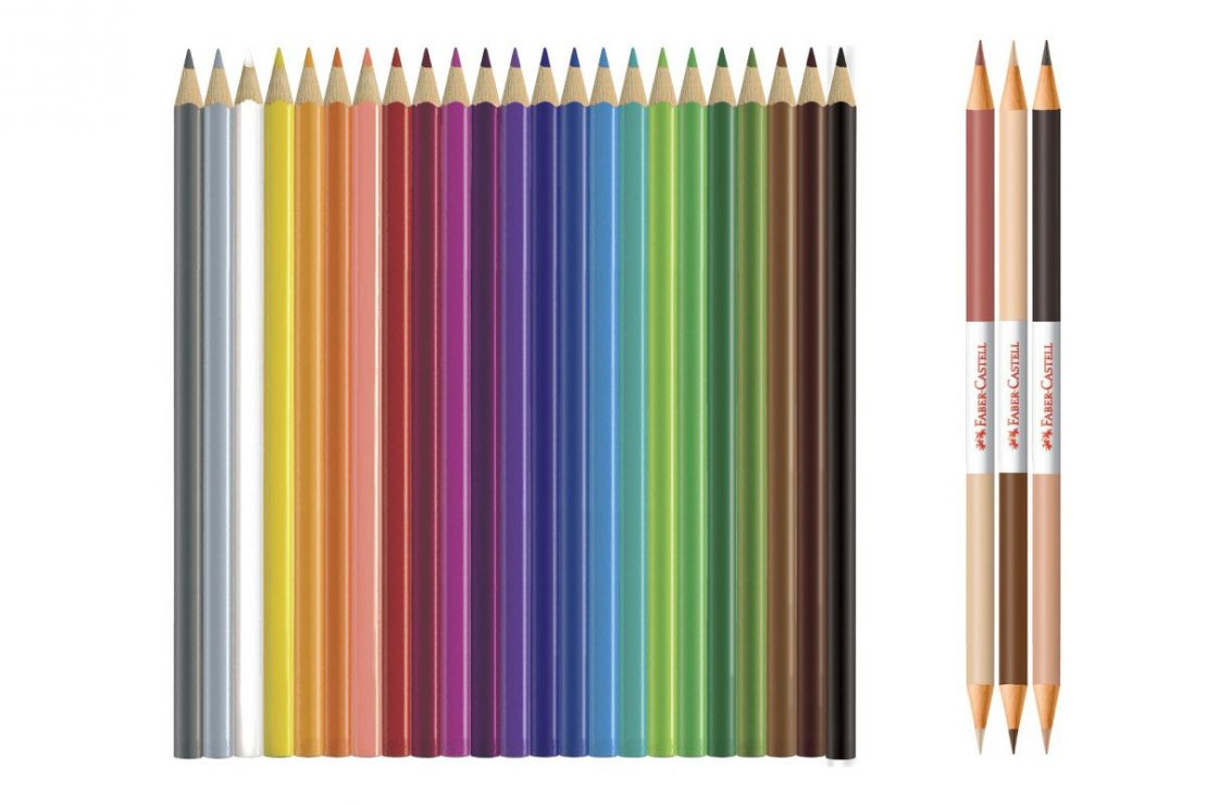 27 World Colors Colored EcoPencils from Faber-Castell