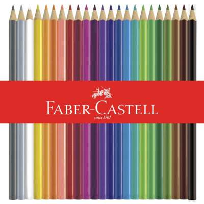 Colored EcoPencils from Faber-Castell