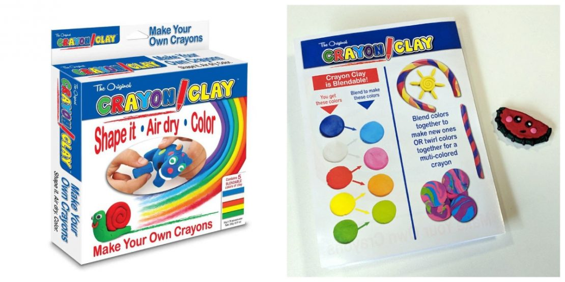 Crayon Clay Box & Instructins