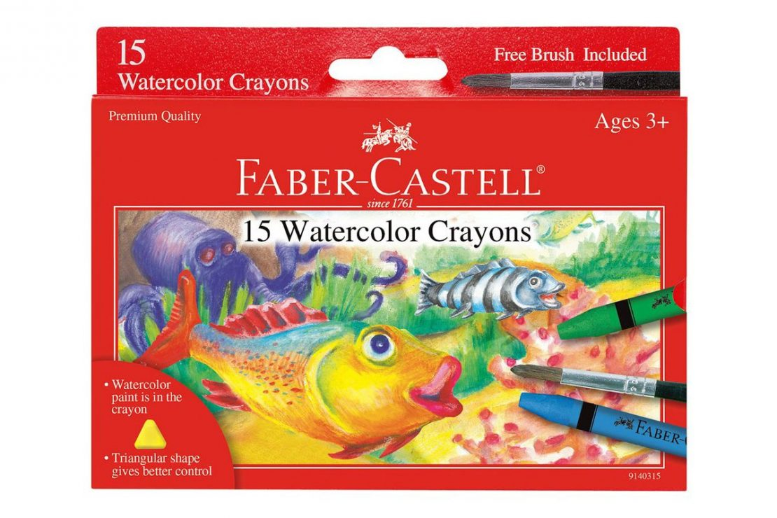 Faber-Castell Watercolor Crayons