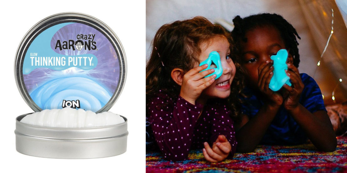Crazy Aaron's Ion Glow Thinking Putty