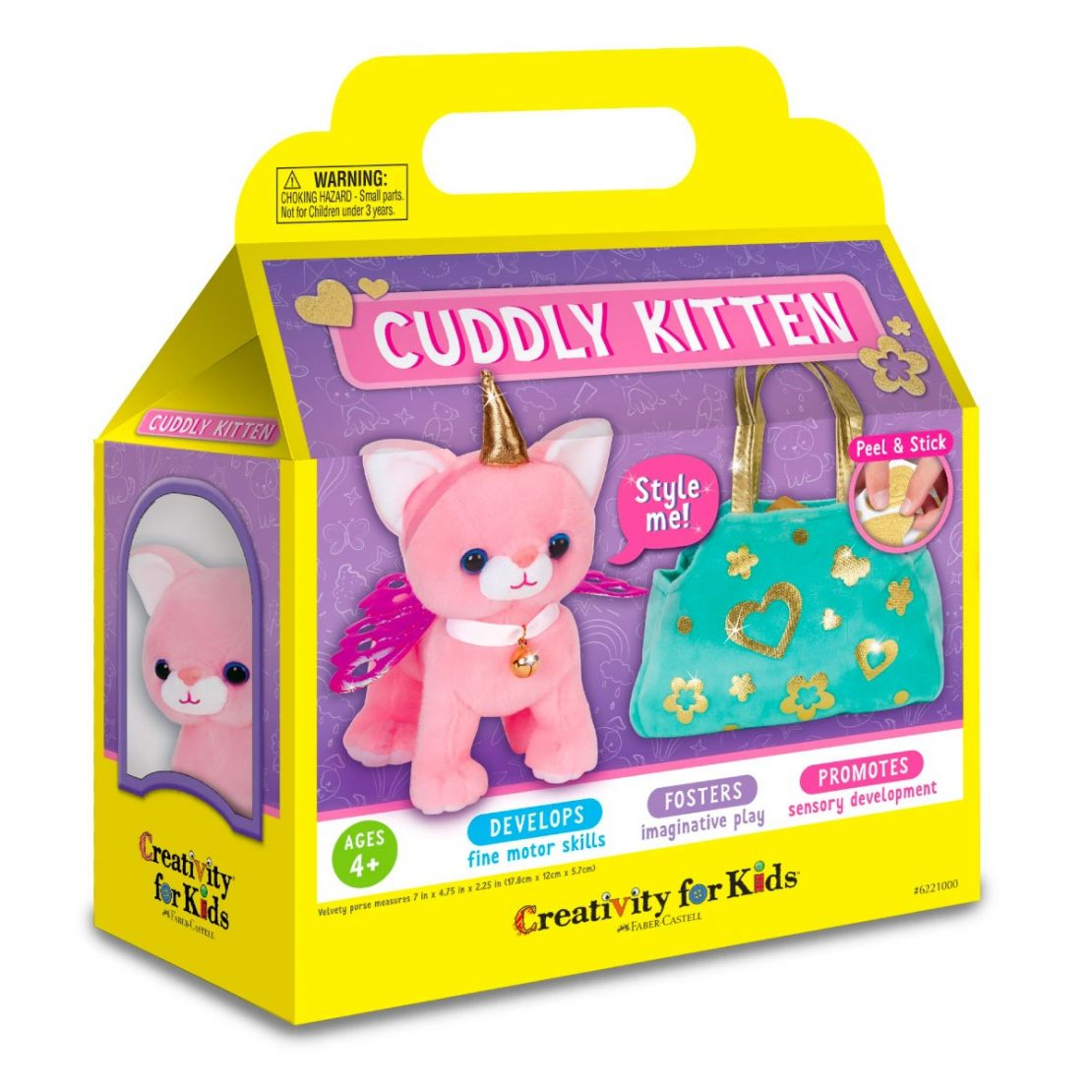 Cuddle Kitten kit from Creativity for Kids