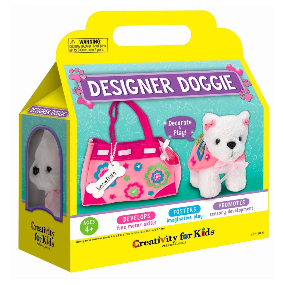 Designer Doggie kit from Creativity for Kids