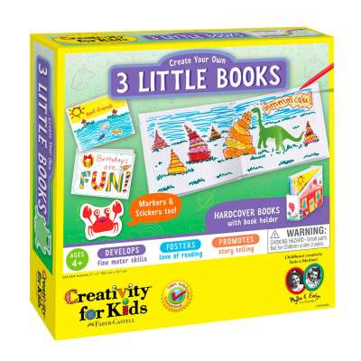 Three Little Books kit from Creativity for Kids