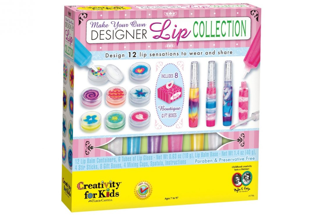Creativity for Kids Designer Lip Collection Craft Kit