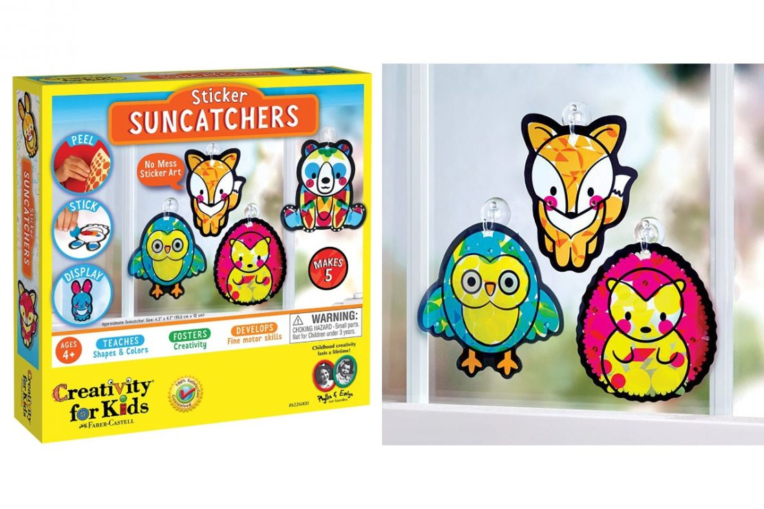 Creativity for Kids Sticker Suncatchers Craft Kit