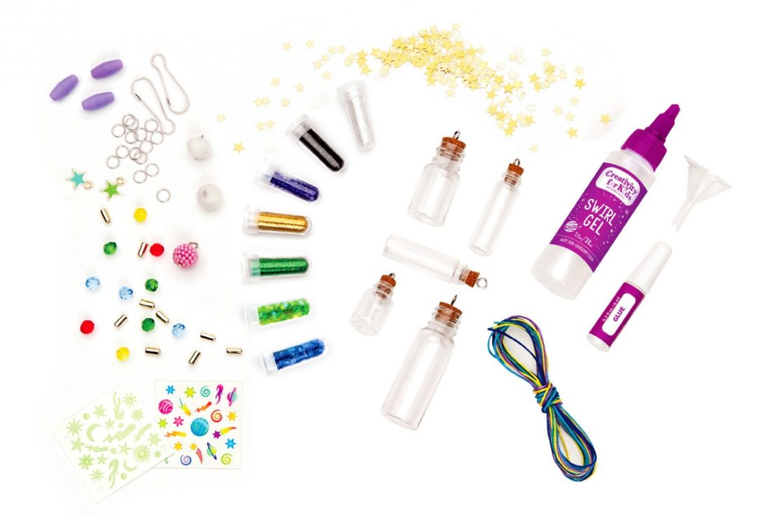 Creativity for Kids Calming Swirl Charms Craft Kit