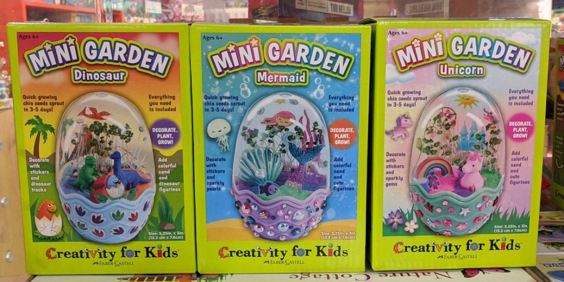 Mini Garden sets from Creativity for Kids