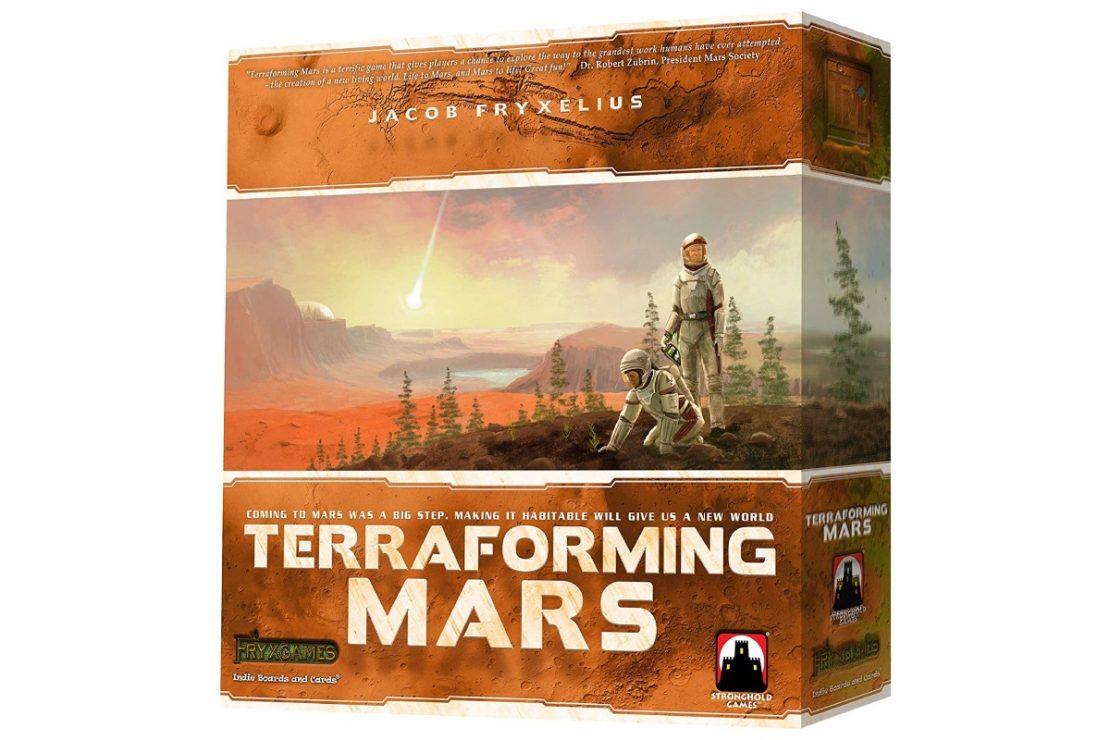 Terraforming Mars from Fryx Games