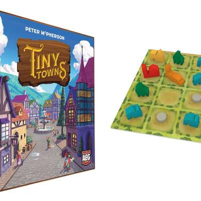 Tiny Towns from Alderac Entertainment Group