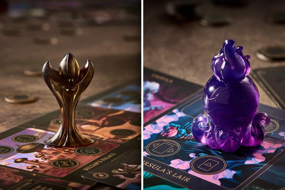 Disney Villainous Character Tokens: Jafar and Ursula