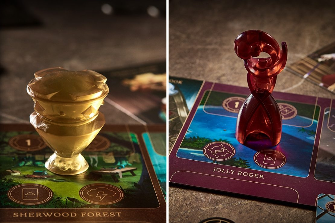 Disney Villainous Character Tokens: Prince John & Captain Hook