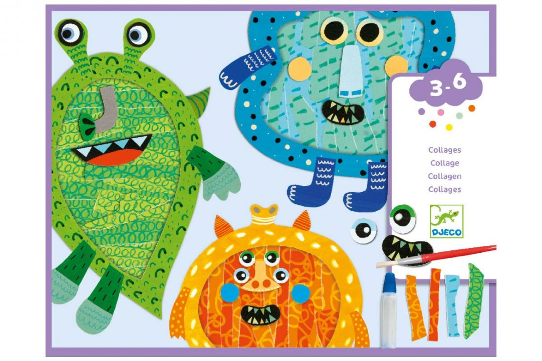 Djeco Collage Monsters