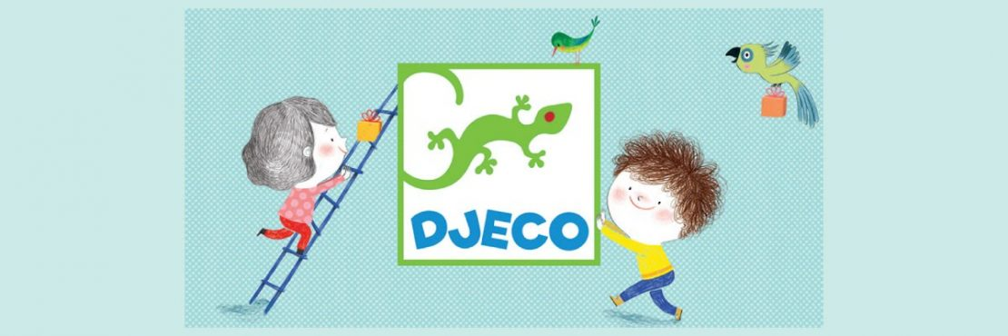 Artist designed activities for little artists from Djeco