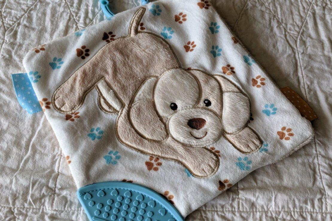 Douglas Baby Playtivity Blankie Puppy