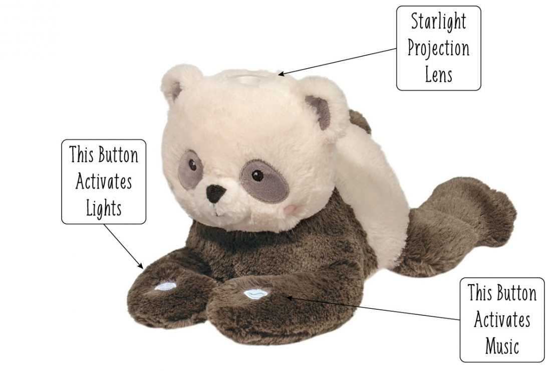 Douglas Starlight Musical Panda