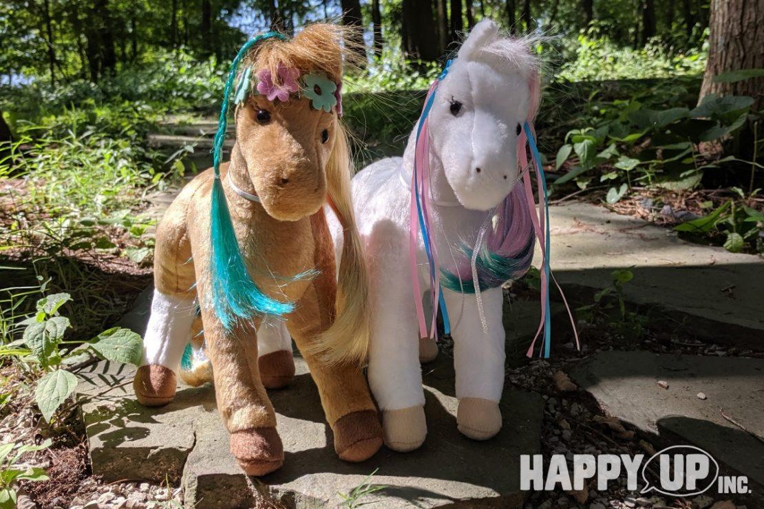 Daisy and Rainbow Princess Horses from Douglas