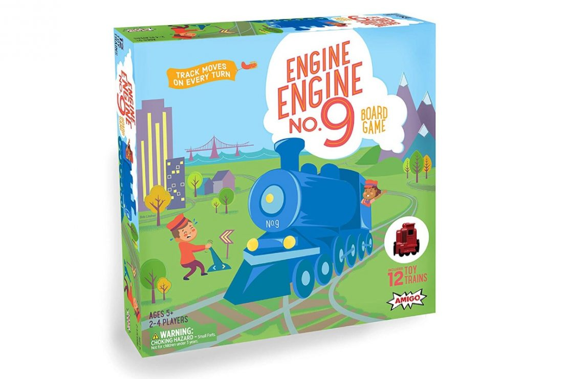 Engine Engine Number 9 Box