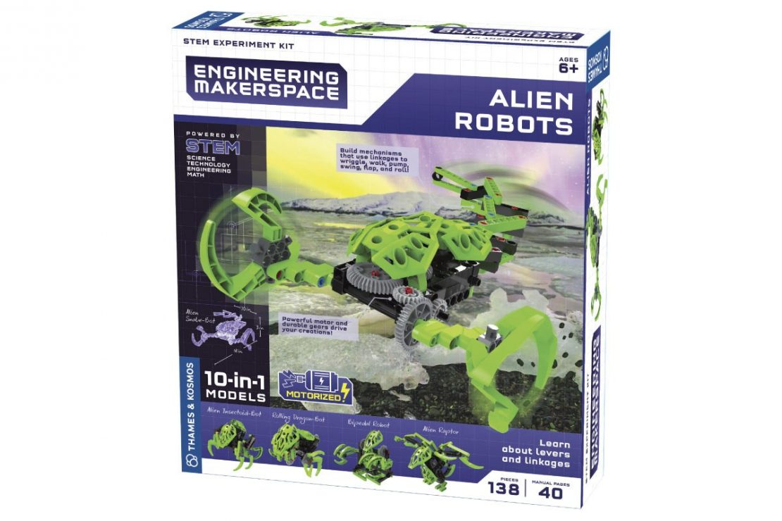 Alien Robots Engineering Makerspace from Thames & Kosmos