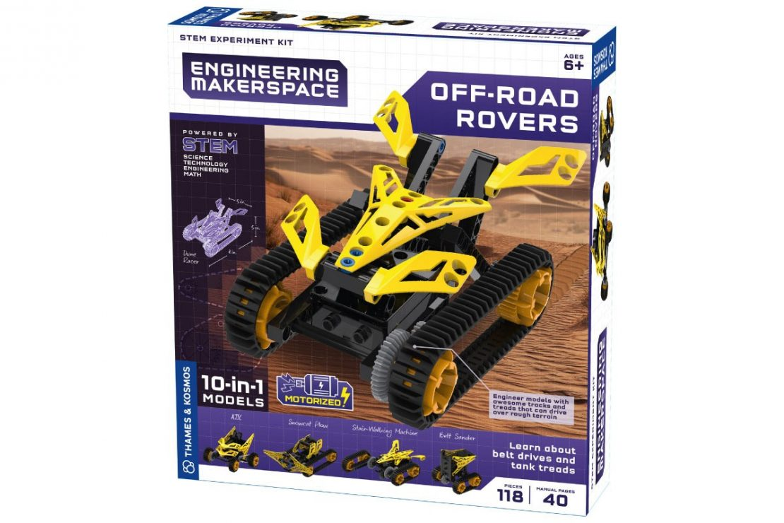 Off-Road Rovers Engineering Makerspace from Thames & Kosmos