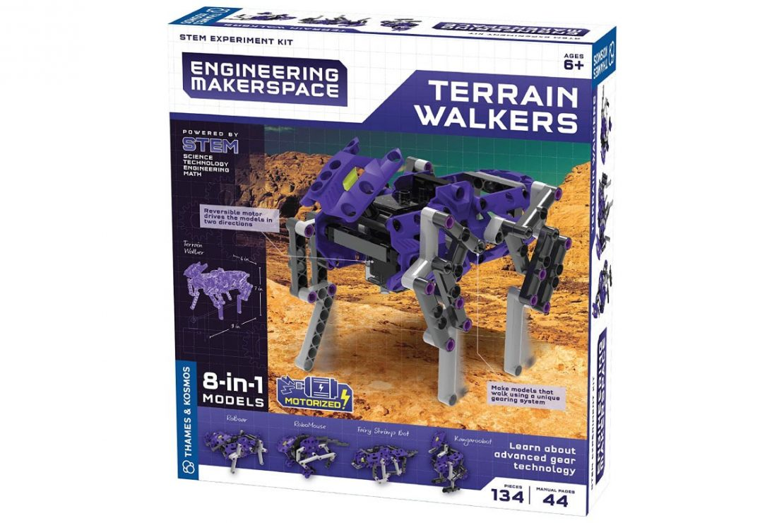 Terrain Walkers Engineering Makerspace from Thames & Kosmos