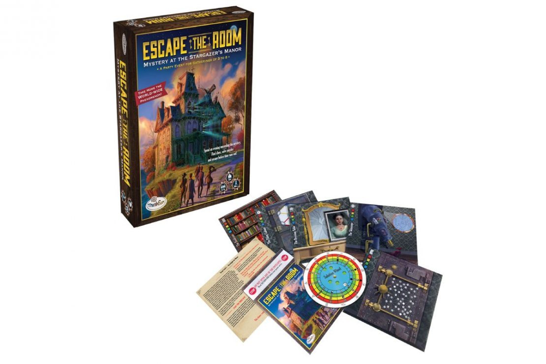 Mystery at the Stargazer's Manor Escape The Room Game from ThinkFun