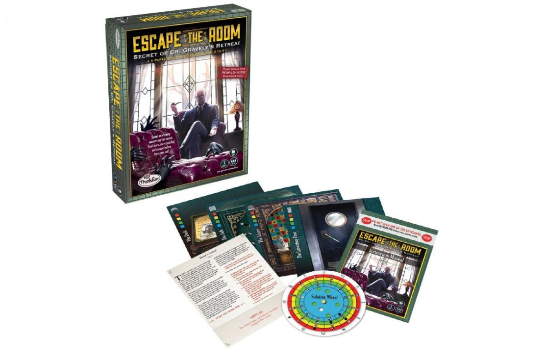 Secret of Dr. Gravely's Retreat Escape The Room Game from ThinkFun