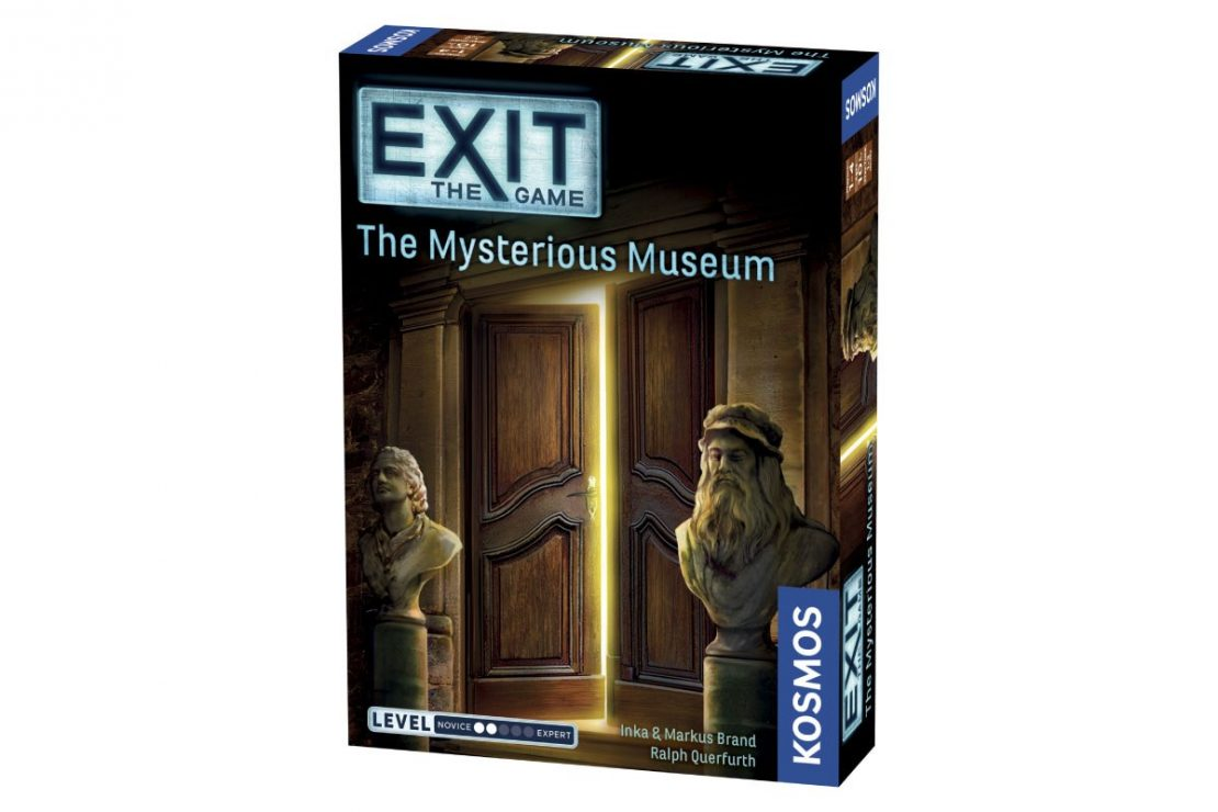 Exit the Game The Mysterious Museum from Kosmos