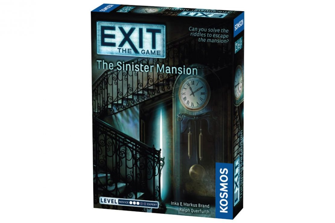 Exit the Game The Sinister Mansion from Kosmos