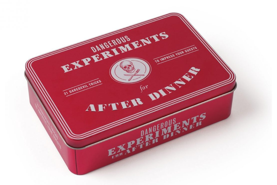 Dangerous Experiments for After Dinner from Laurence King Publishing