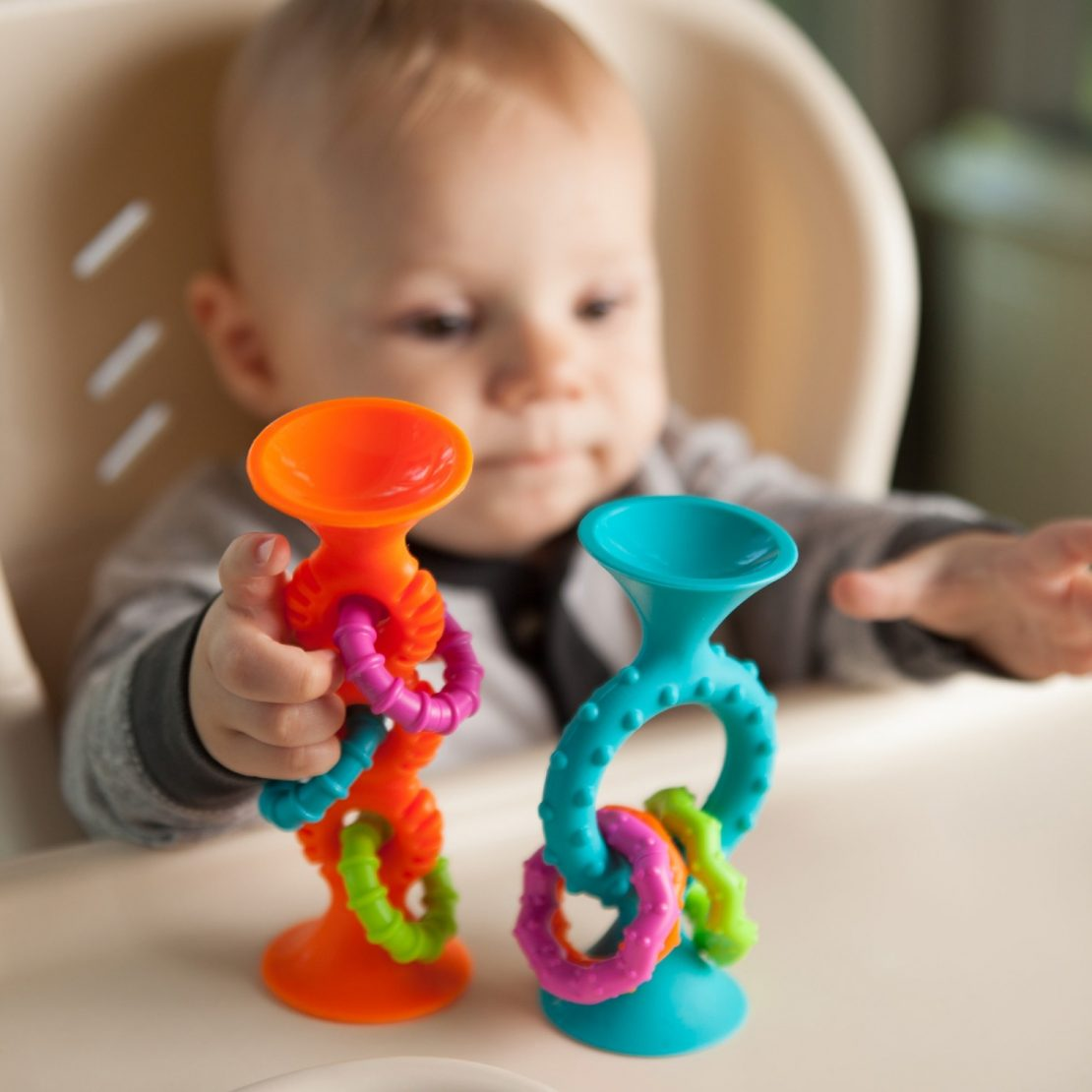PipSquigz Loops teethers from FatBrain Toys