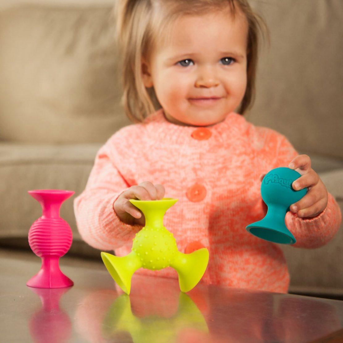 PipSquigz Fat Brain Baby Toy