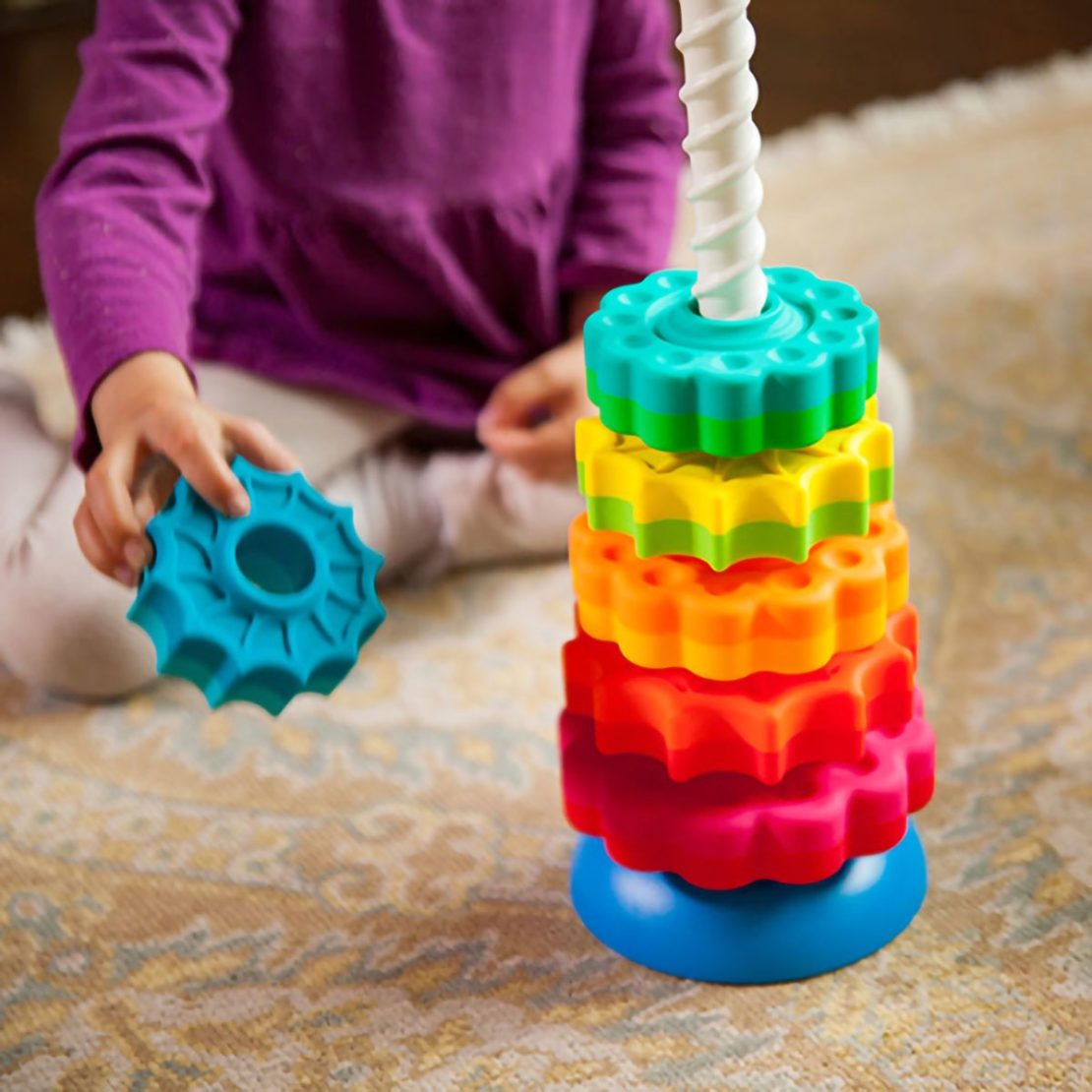 SpinAgain Fat Brain Toddler Toy