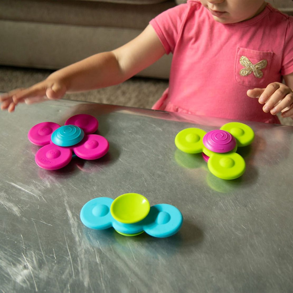 Whirly Squigz Fat Brain Baby Toy