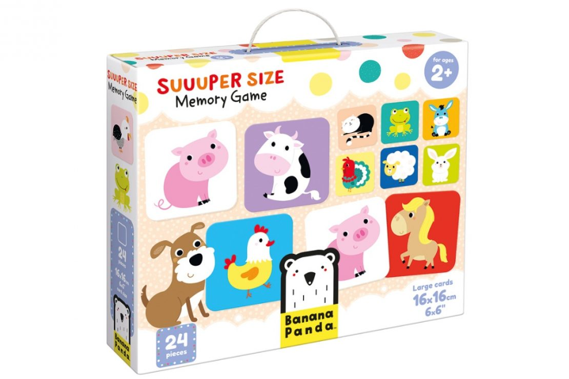 Suuuper Size Memory Game from Banana Panda