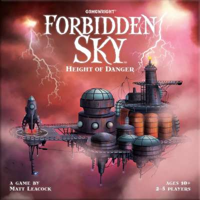 Forbidden Sky Game Box Front