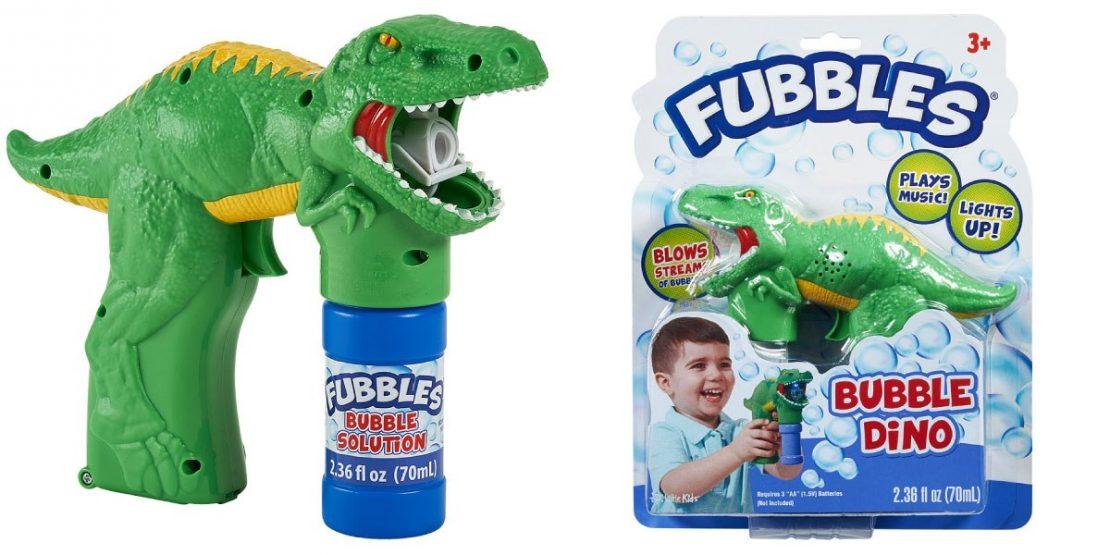 Fubbles Dino Bubble Blaster
