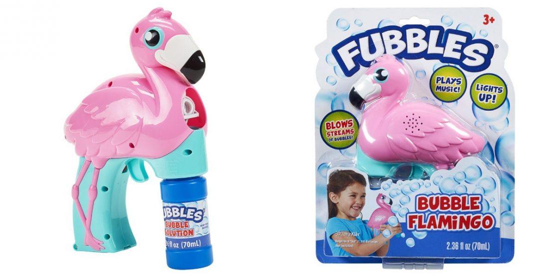 Fubbles Flamingo Bubble Blaster