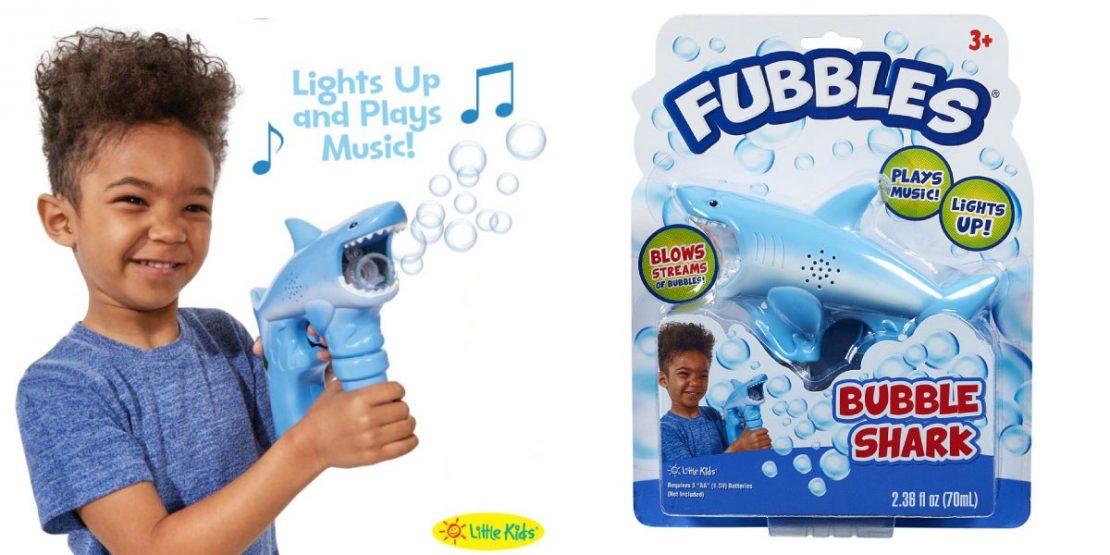Fubbles Shark Bubble Blaster