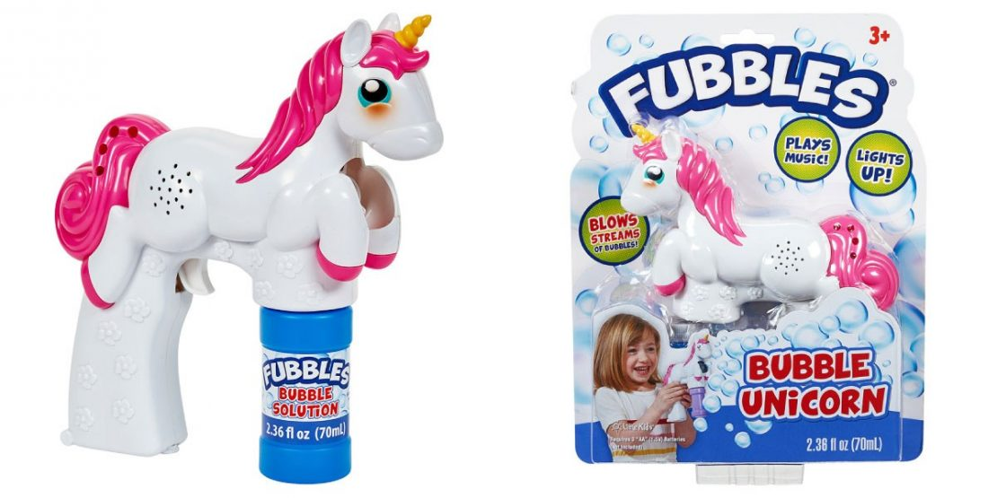 Fubbles Unicorn Bubble Blaster