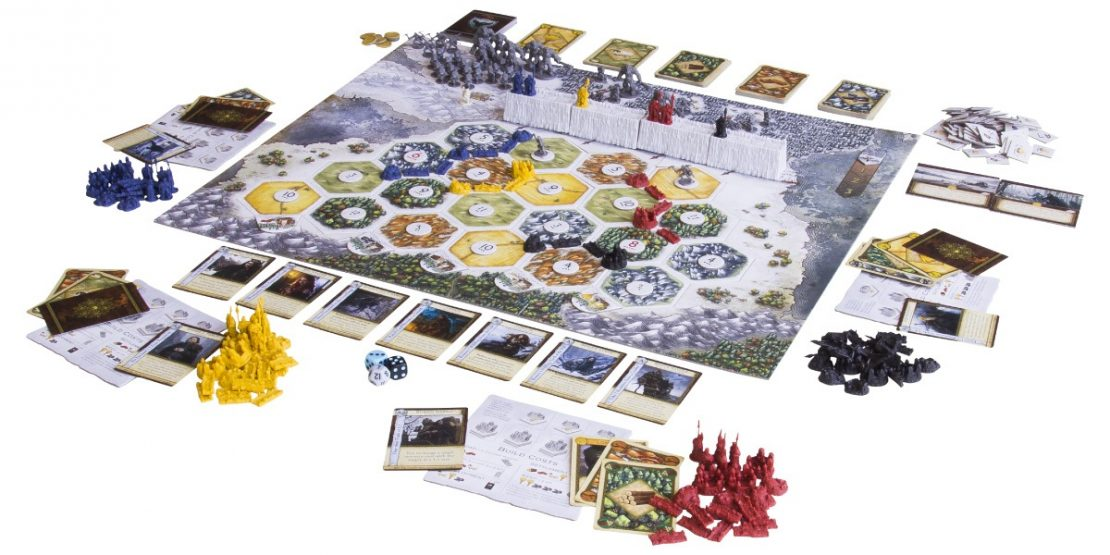 Game of Thrones Catan Layout
