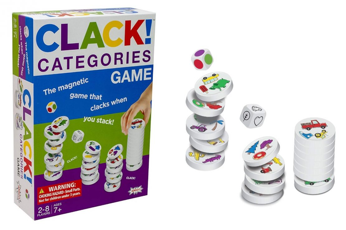 Clack Categories from Amigo Games