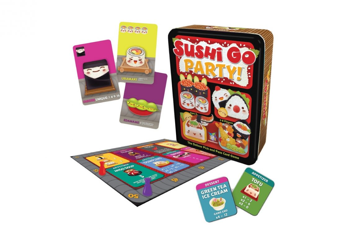 Sushi Go Party Game from Gamewright