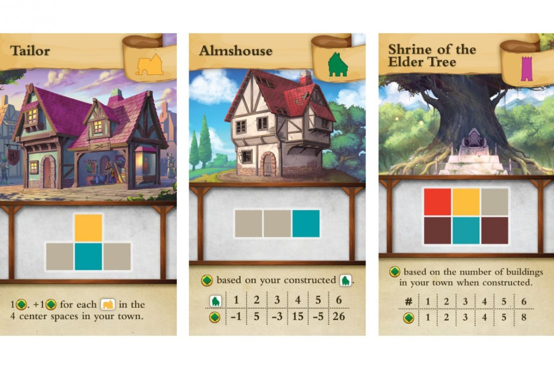 Tiny Towns Game from Alderac Entertainment Group