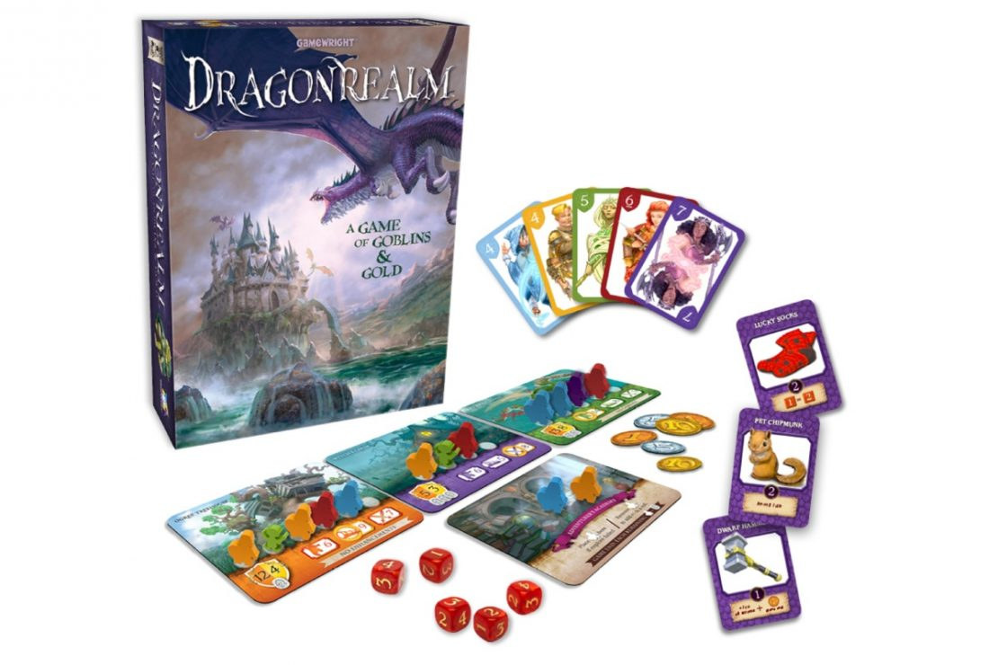 Dragonrealm Game from Gamewright
