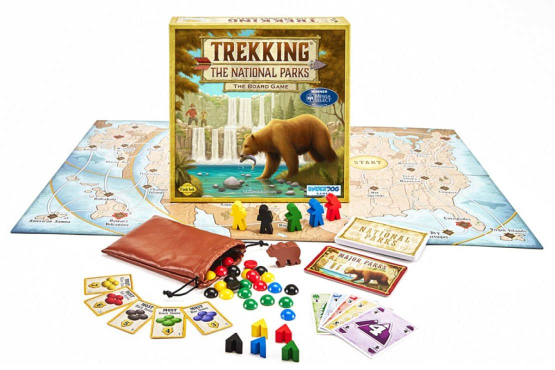 Trekking the National Parks Game from Underdog Games
